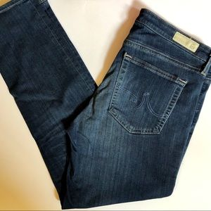 Ag Adriano Goldschmied Jeans - AG JEANS the Prima Crop mid-rise Cigarette Crop